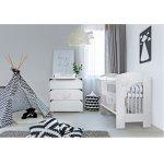Mobilier camera copii si bebelusi Nel Cloud Alb