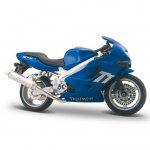 Motocicleta Triumph TT600 Burago