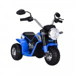 Motocicleta electrica Mini 6 volti blue