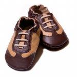 Pantofi cu talpa moale Liliputi Brown Sport XXL 16 cm