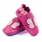 Pantofi cu talpa moale Liliputi Butterfly L 14 cm