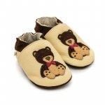 Pantofi cu talpa moale Liliputi Teddyboy L 14 cm
