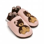 Pantofi cu talpa moale Liliputi Teddygirl S 11,3 cm