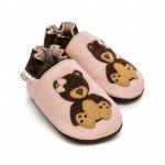 Pantofi cu talpa moale Liliputi Teddygirl XL 15 cm