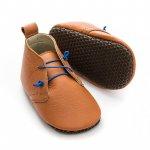 Pantofi cu talpa moale Liliputi cu crampoane antialunecare Urban Boho L 14 cm