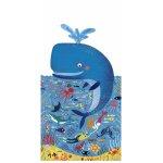Puzzle  Balena albastra in ocean Londji