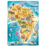 Puzzle cu rama Africa 53 piese