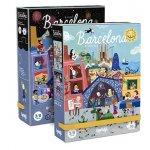 Puzzle reversibil zi si noapte in Barcelona Londji
