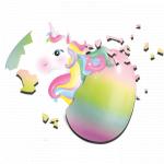 Oua cu unicorn Ses Creative