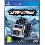 Joc Snowrunner a Mudrunner Game Ps4