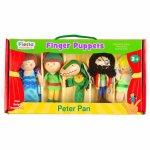 Set 5 marionete pentru deget Peter Pan Fiesta Crafts