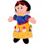 Set marionete Alba ca Zapada si cei 7 pitici Fiesta Crafts