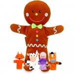 Set marionete Omul de turta dulce Fiesta Crafts