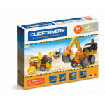 Set de construit Clicformers Santier 74 piese