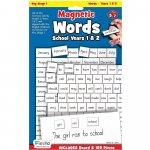 Set magnetic Primele cuvinte in limba engleza clasa 1 si 2 Fiesta Crafts