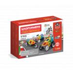 Set magnetic de construit Magformers Vehicule 17 piese