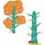 Sticker de perete grafic de crestere Natura Fiesta Crafts
