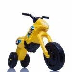 Tricicleta fara pedale Enduro Mini galben-negru