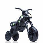 Tricicleta fara pedale Enduro Maxi negru-negru