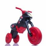 Tricicleta fara pedale Enduro Mini negru-rosu