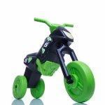Tricicleta fara pedale Enduro Mini negru-verde