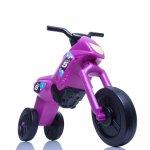 Tricicleta fara pedale Enduro Mini purpuriu-negru