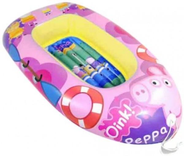 Barca gonflabila copii 110 cm Saica 9115 Peppa Pig imagine
