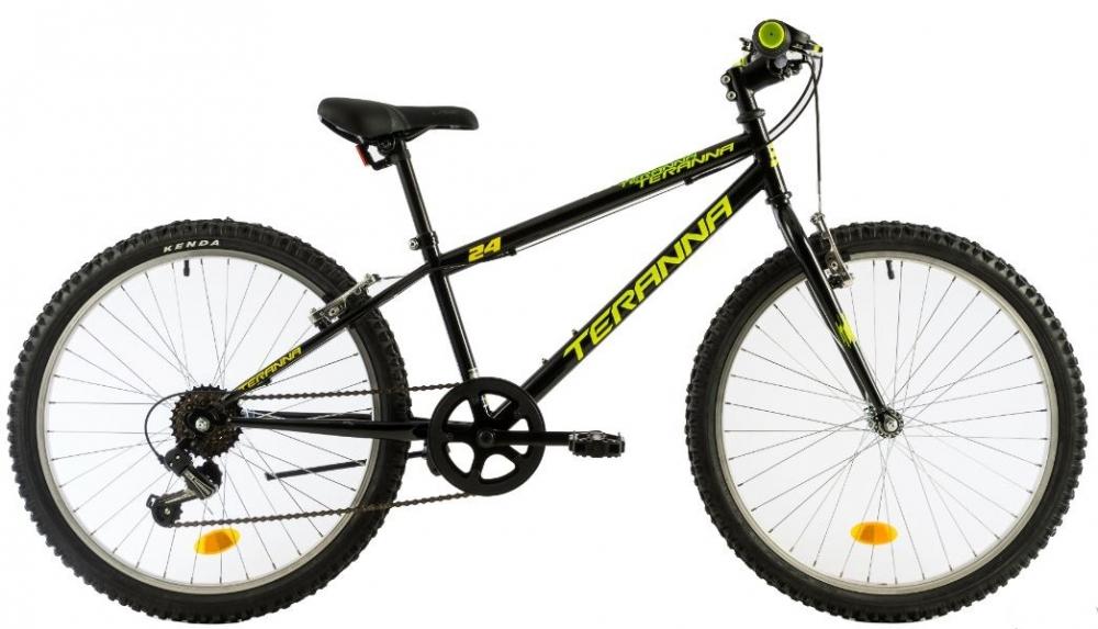 Bicicleta copii Dhs 2421 negru 24 inch