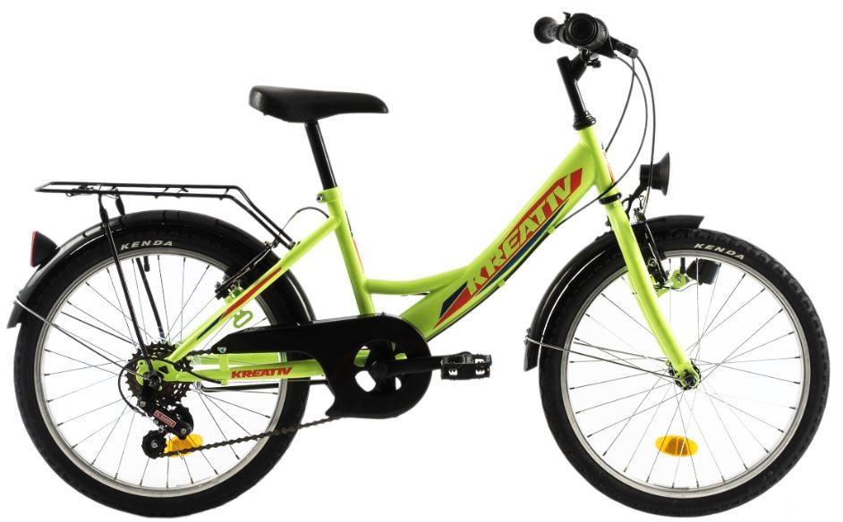 Bicicleta copii Kreativ 2014 verde aprins 20 inch