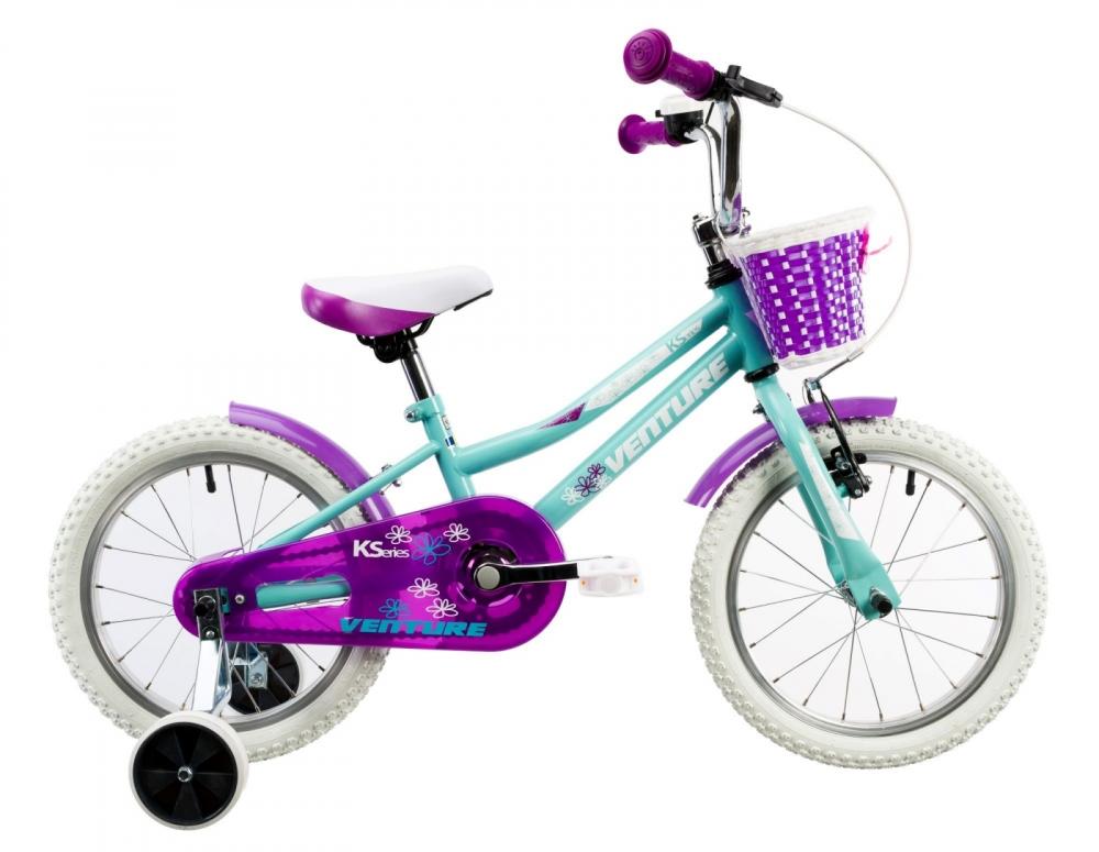 Bicicleta copii Venture 1618 verde light 16 inch