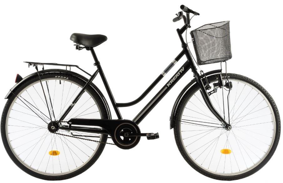 Bicicleta oras Kreativ 2812 L 505 mm negru 28 inch