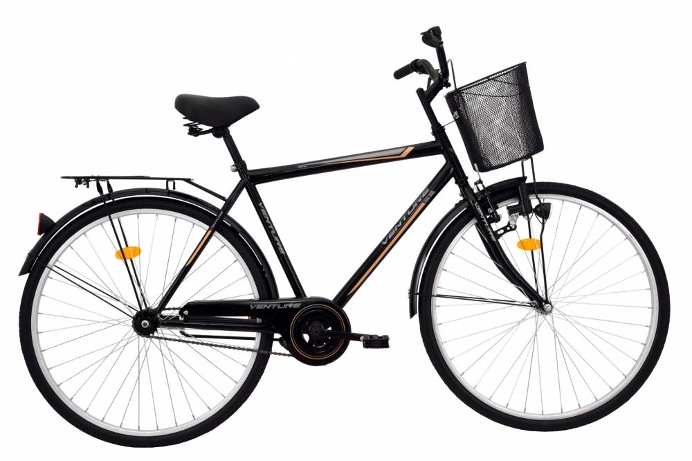 Bicicleta oras Venture 2817 L negru 28 inch