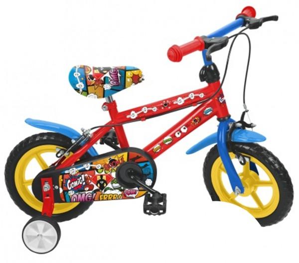 Bicicleta baieti Saica 2851 Comic roata Eva 12 inch