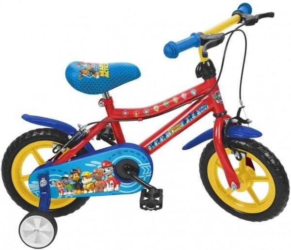 Bicicleta baieti Saica 7437 Paw Patrol roata 12 inch