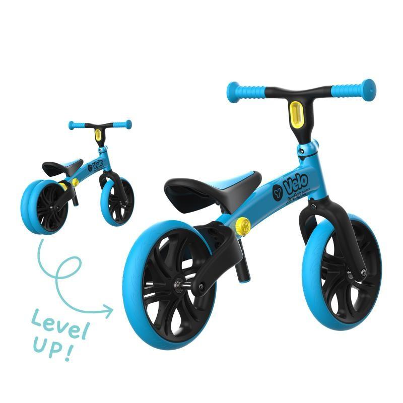 Bicicleta fara pedale Y Volution Y Velo Junior albastru