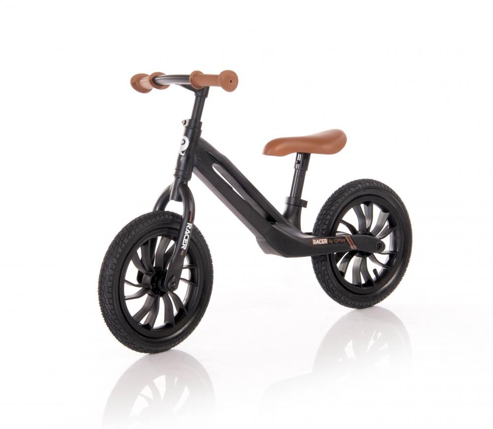 Bicicleta fara pedale cu cadru din magneziu Racer Black Brown