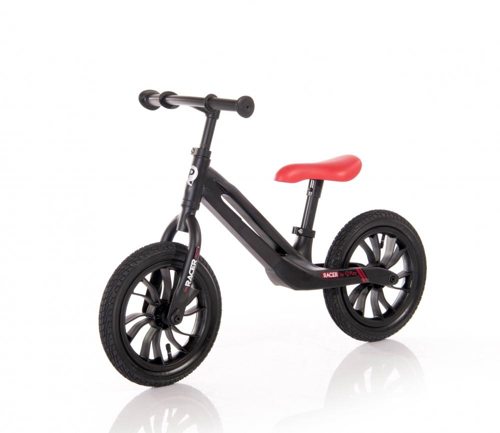 Bicicleta fara pedale cu cadru din magneziu Racer Black Red