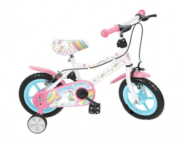 Bicicleta fete Saica Unicorn 12 inch