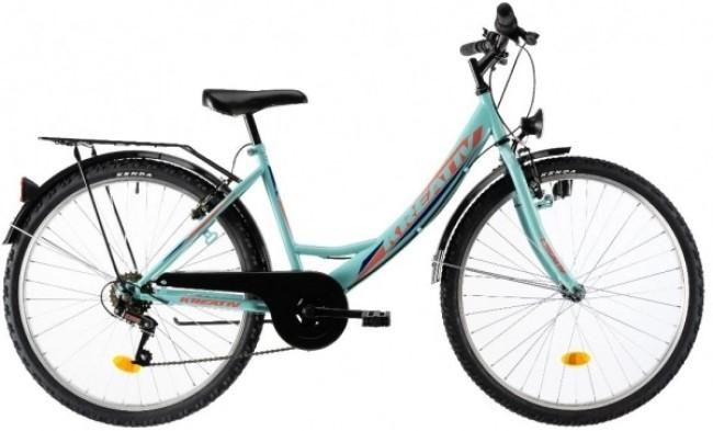 Bicicleta oras Dhs 2614 M turcoaz 26 inch