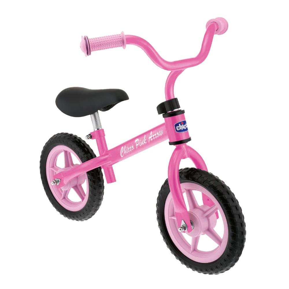 Bicicleta pentru copii fara pedale Chicco Pink Arrow roz 2-5 ani imagine