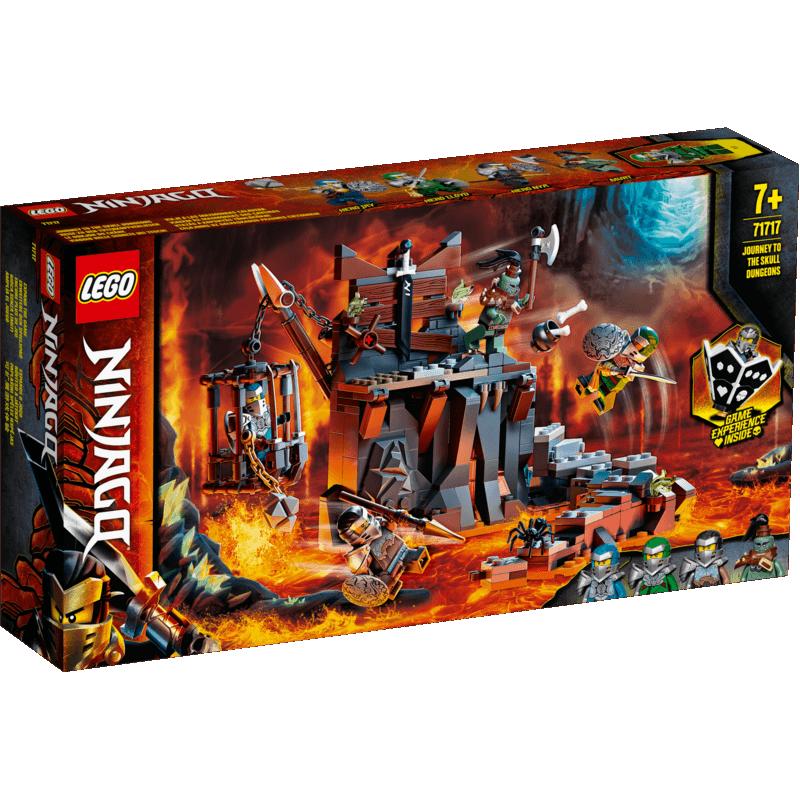 Calatorie catre temnitele Craniu Lego
