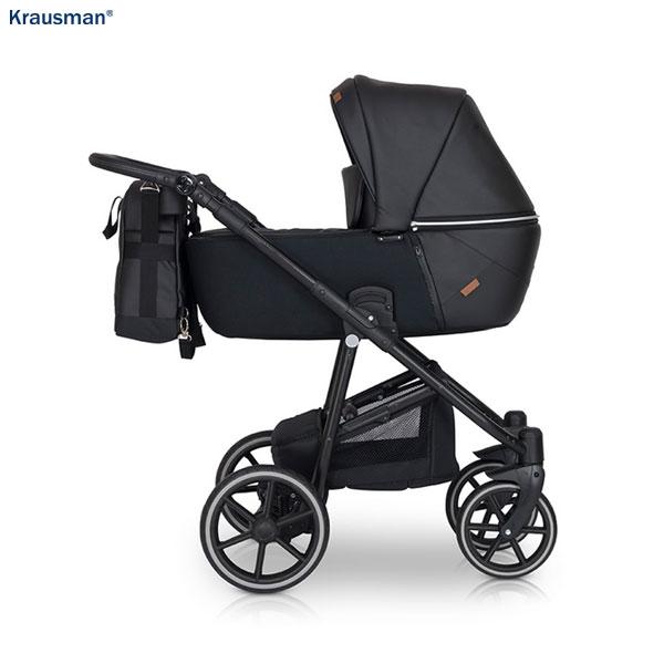 KRAUSMAN Carucior 3 in 1 Verano Lux Black