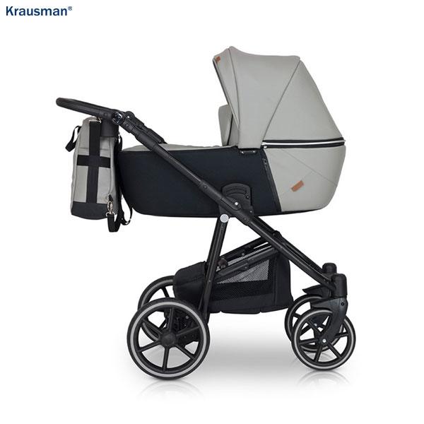 KRAUSMAN Carucior 3 in 1 Verano Lux Grey