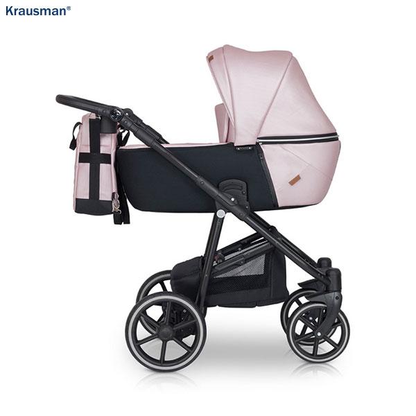 KRAUSMAN Carucior 3 in 1 Verano Lux Pink