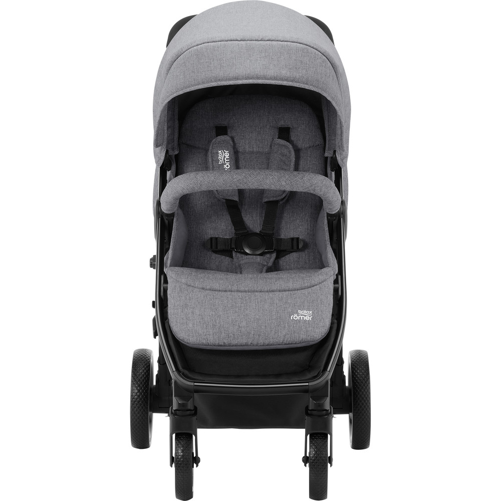 Carucior B-Agile 4 M Elephant grey- Britax imagine