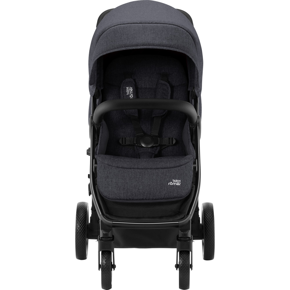 Carucior B-Agile 4 R Black Shadow black Britax imagine