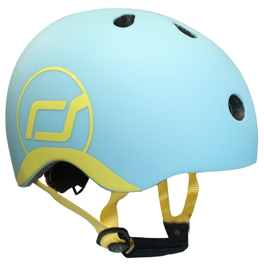 Scoot  Ride Casca de protectie pentru copii cu sistem de reglare Scoot  Ride Blueberry 1 an+