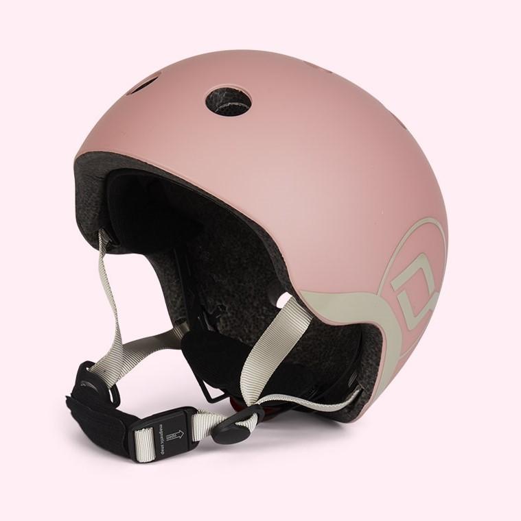 Casca de protectie pentru copii cu sistem de reglare Scoot Ride Rose 1 an+