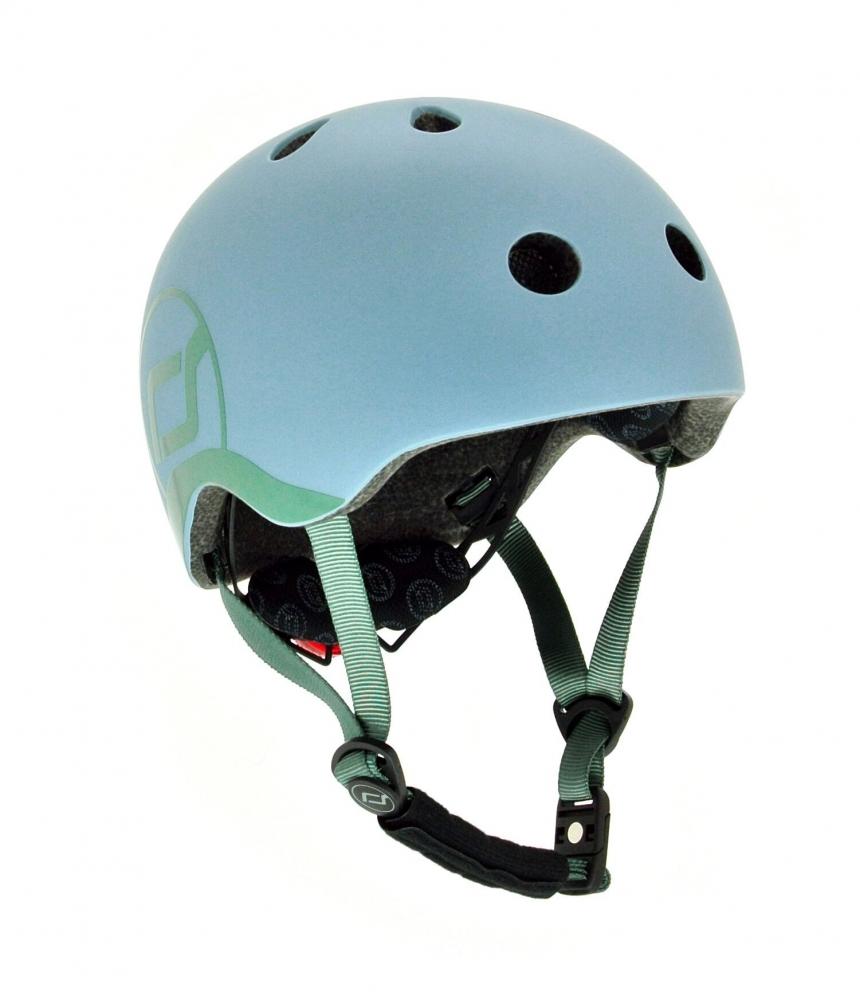 Scoot  Ride Casca de protectie pentru copii cu sistem de reglare Scoot  Ride Steel 1 an+