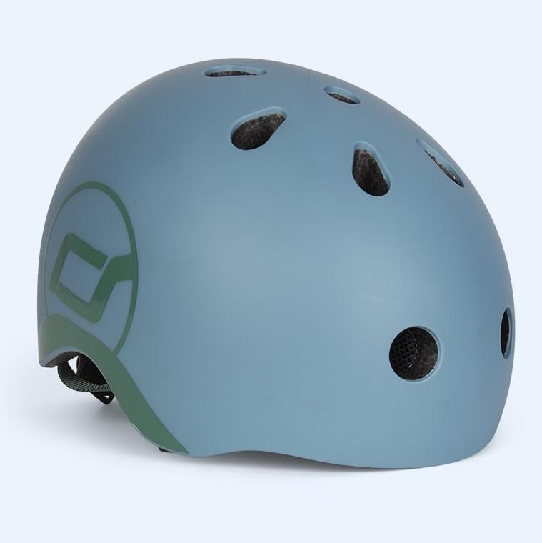 Casca de protectie pentru copii cu sistem de reglare Scoot Ride Steel 1 an+